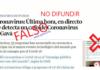 Noticia falsa sobre un posible caso de Coronavirus en Gavà.