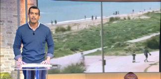 Fragmento del vídeo de Telecinco.