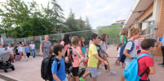 Estudiantes de primaria de Gavà. (Foto: Ayuntamiento / 2019)