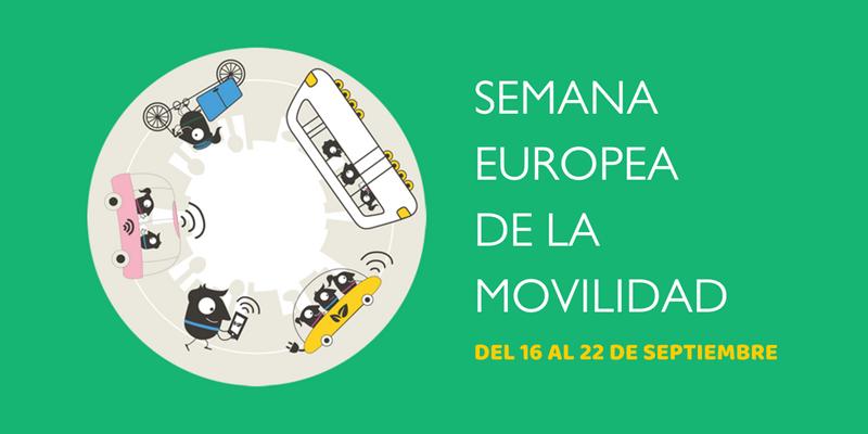 Semana europea de la Movilidad Sostenible.