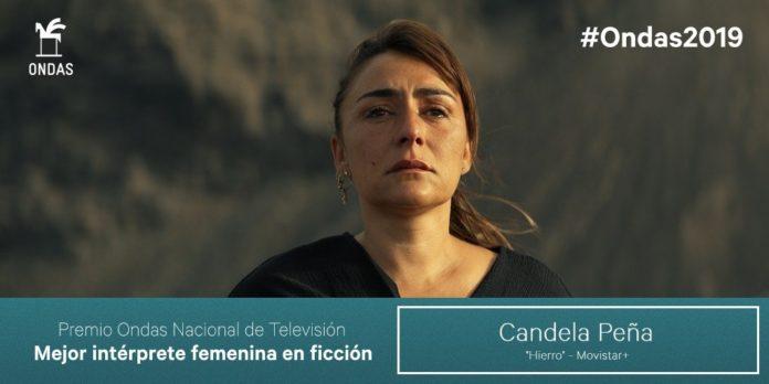Candela Peña, mejor interprete femenina en ficción.