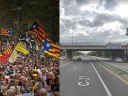 La manifestación finalmente será por la autovía.