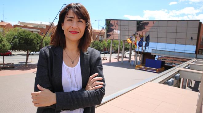 Raquel Sánchez, alcaldesa de Gavà. Foto: EL PERIÓDICO.