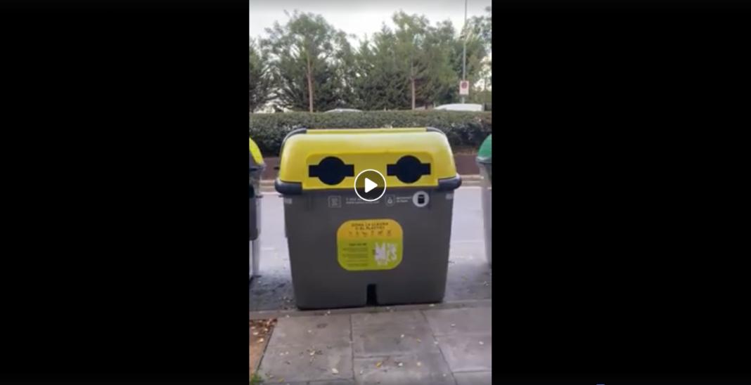 Un vídeo sobre los contenedores en Gavà acumula más de 15.000 visitas.