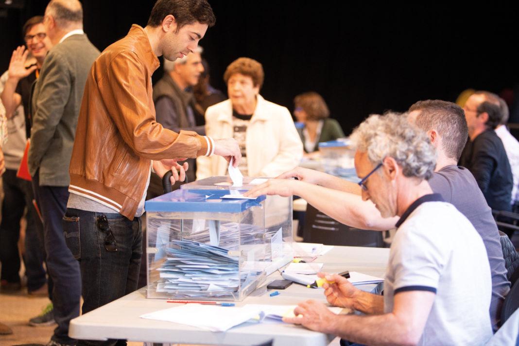 Una Junta de Gobierno extraordinaria ha elegido a los miembros de la mesa. Foto: Alternativas Económicas.