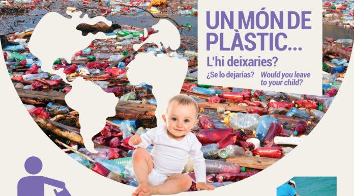 Exposición 'Menos plástico, más vida'.
