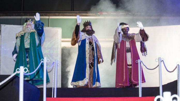 Cabalgata de los Reyes Magos en Gavà. Foto: El Periódico.