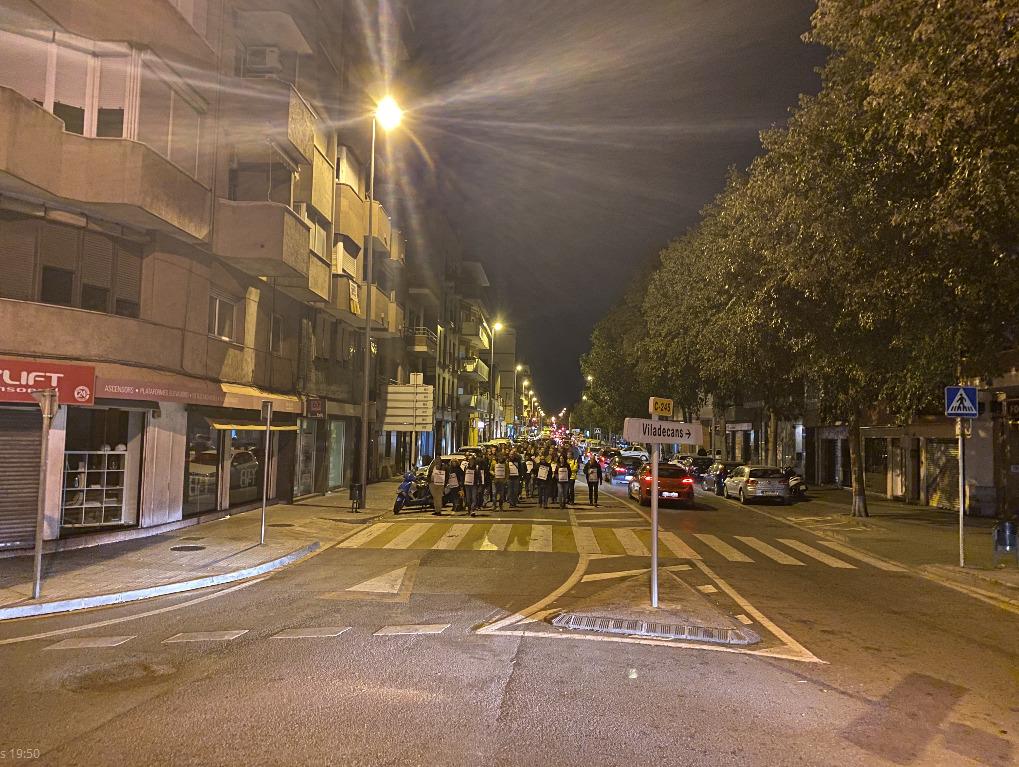 Carretera de Santa Creu de Calafell.