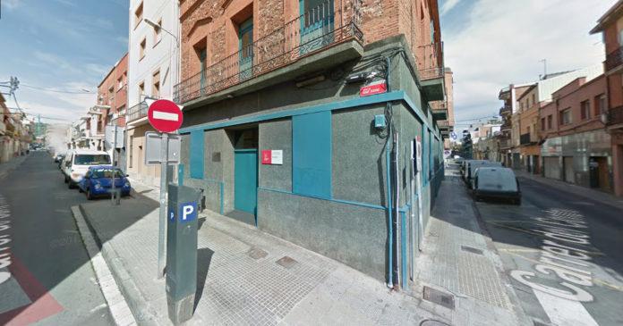 Esquina de la calle Sant Isidre con calle del Centre.
