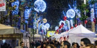 La Rambla de Gavà durante las navidades en años anteriores. Foto: Gavà Impulsa.