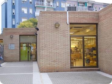 Biblioteca Marian Colomé. Foto: Ayuntamiento de Gavà.