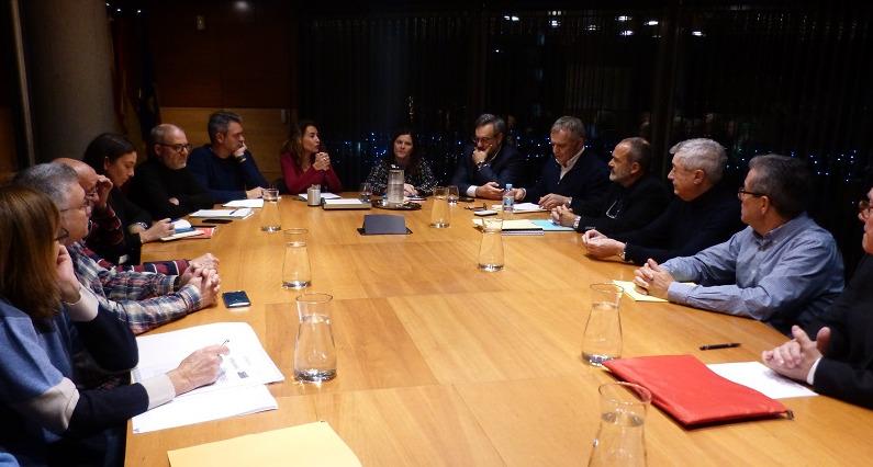 Encuentro en el Ayuntamiento de Gavà.