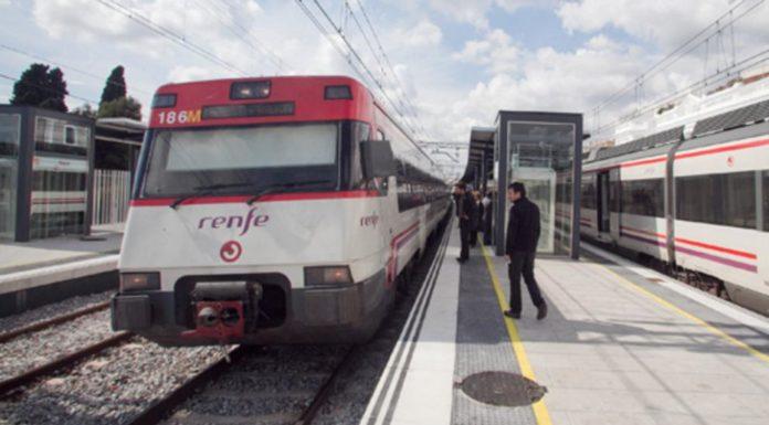 Estación de Gavà. Foto: La Vanguardia.