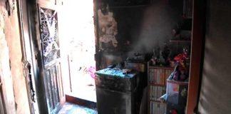 Incendio en la casa. Foto: El Bruguers Digital.