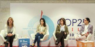 La alcaldesa de Sant Boi también participa en la Cumbre de Madrid. Foto: El Far.
