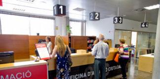 Oficina de Atención Ciudadana. Foto: gavaciutat.cat.