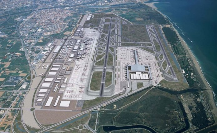 Aeropuerto Josep Tarradellas Barcelona-El Prat.