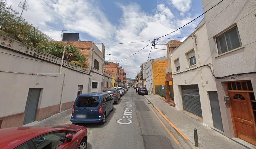 Calle Lluis Borrasa.