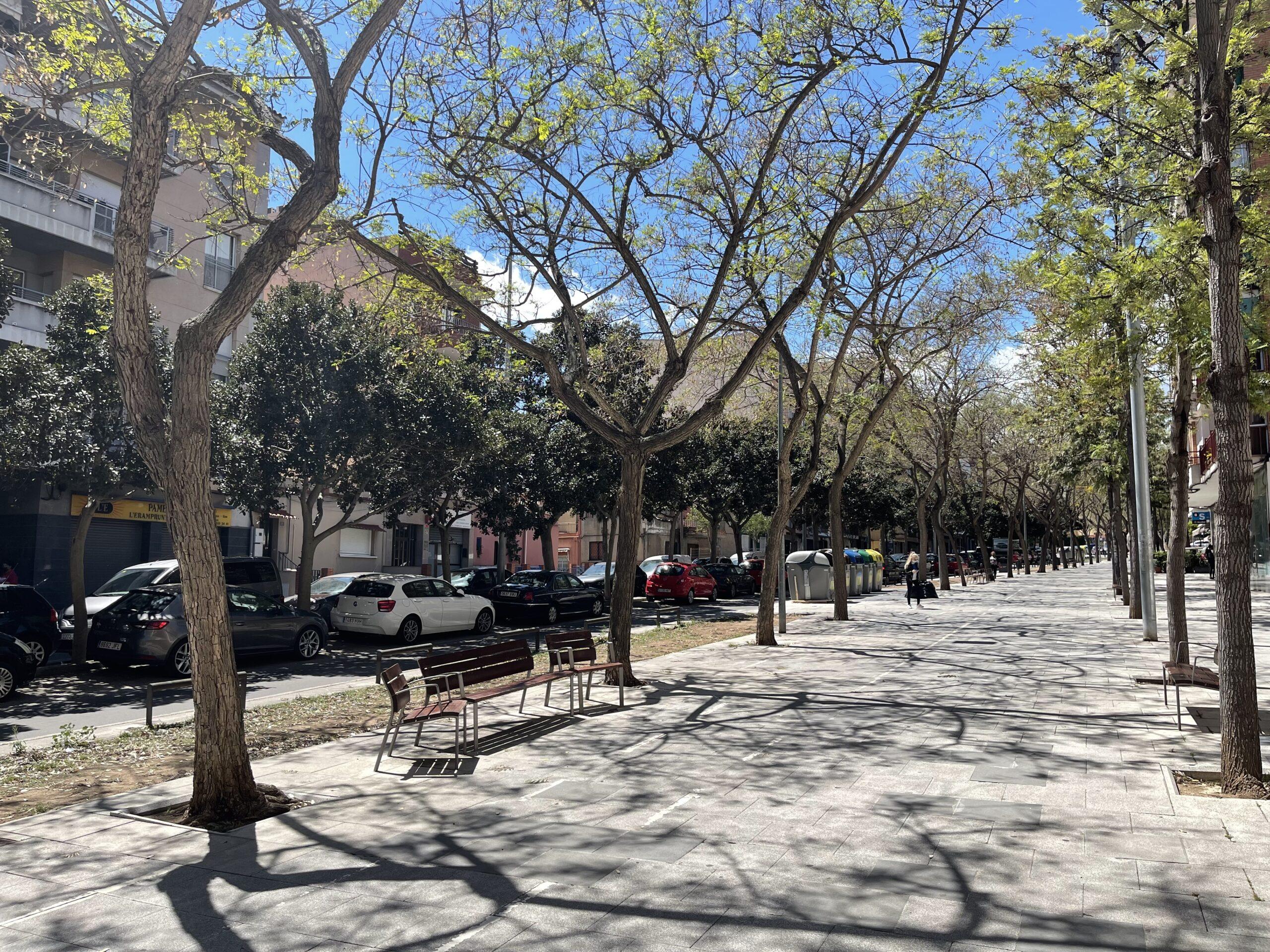 Avenida Eramprunyà.