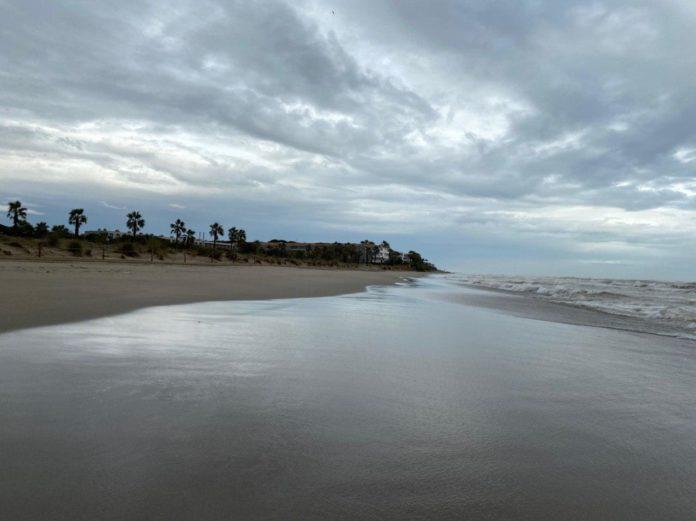 Imágenes del último temporal en Gavà.