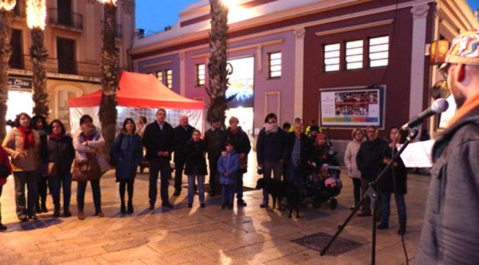 Manifestación en Gavà contra la violencia machista en anteriores ocasiones.