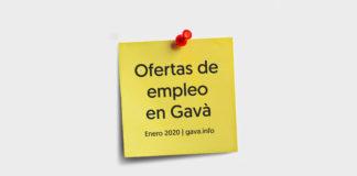 Ofertas de empleo en enero de 2020.