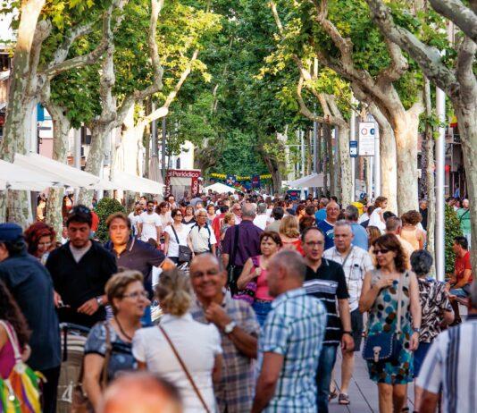 Rambla de Gavà. Foto: Ayuntamiento de Gavà (imagen de archivo).