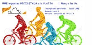 Bicicletada de la UME.