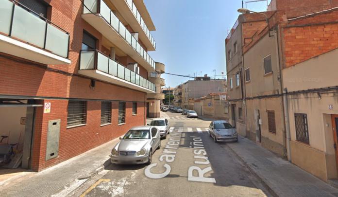 Calle Santiago Rusiñol.