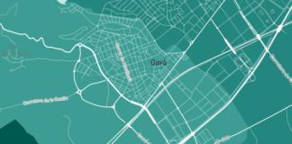 Captura del mapa interactivo.