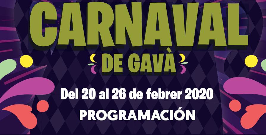Programación completa y recorrido de la Rúa del Carnaval en Gavà.