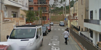 Calle Riu Anoia de Can Tries.