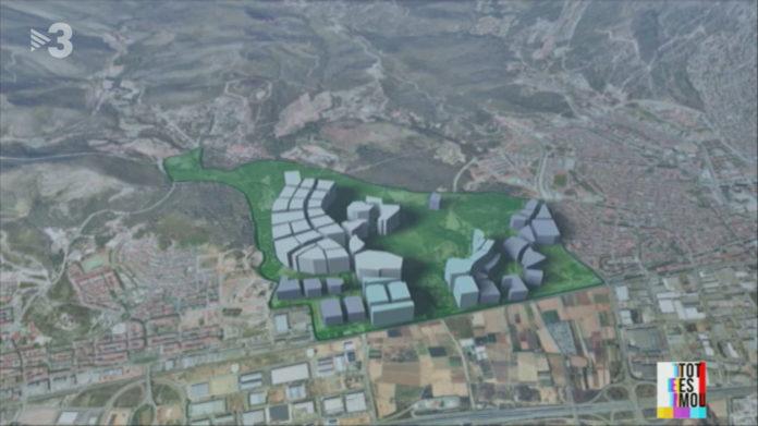 Imagen del Pla de Ponent en Tot es mou de TV3.
