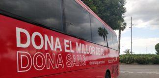 Autobús de Banc de Sang i Teixits.