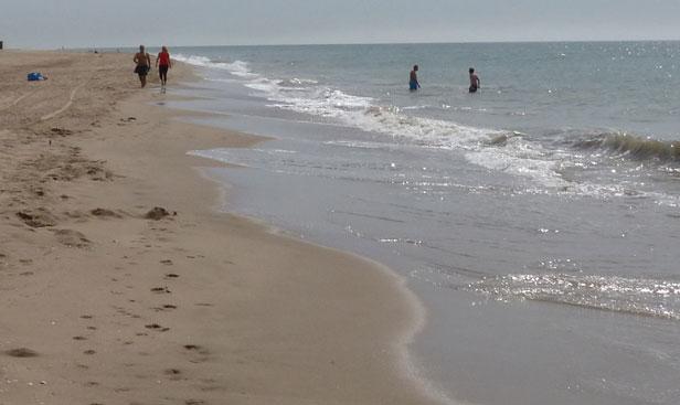 Playa de Gavà. Foto: Ayuntamiento de Gavà.