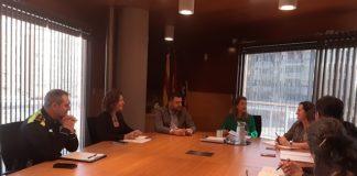 Comité de coordinación del Ayuntamiento de Gavà. Foto: Ayuntamiento de Gavà.