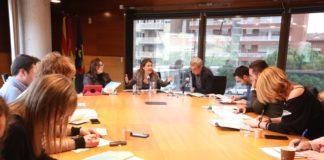 Encuentro con los medio de comunicación. Foto: Ayuntamiento de Gavà.