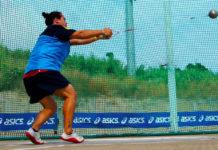 Foto de Laura Redondo en competiciones anteriores.