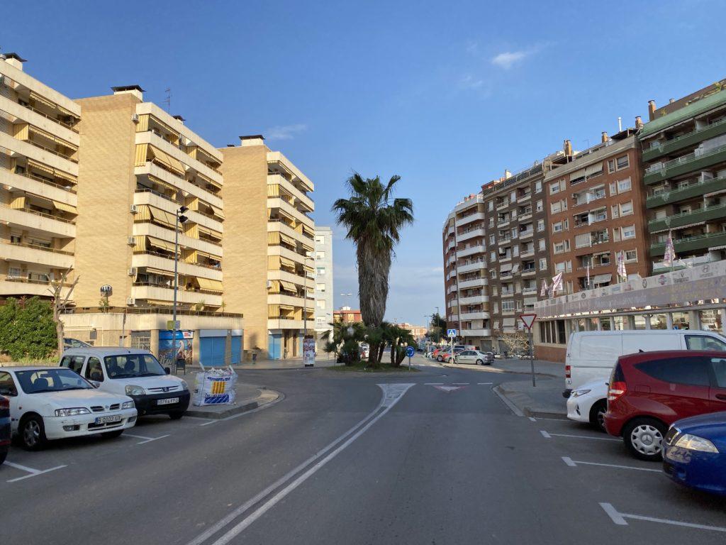 Avenida de l'Eramprunyà.