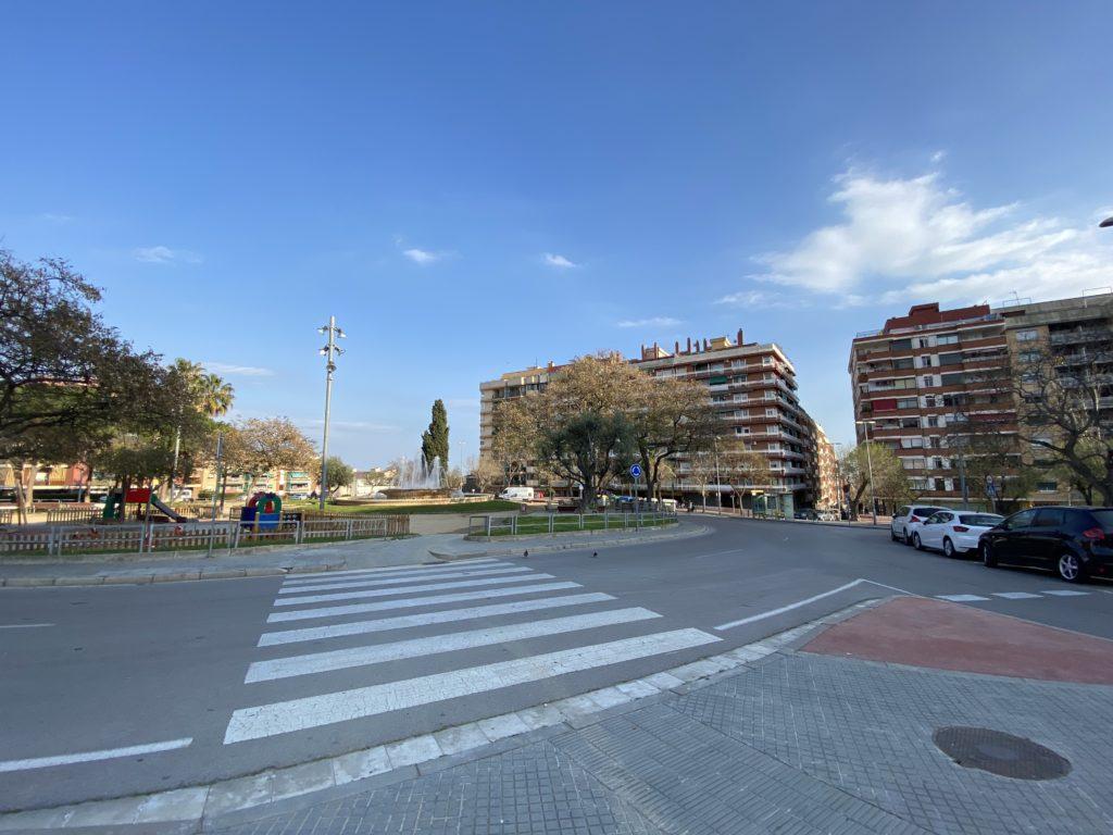 Plaza Catalunya.