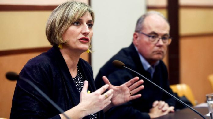 La 'consellera' de Salud de la Generalitat de Cataluña, Alba Vergès. (EFE)