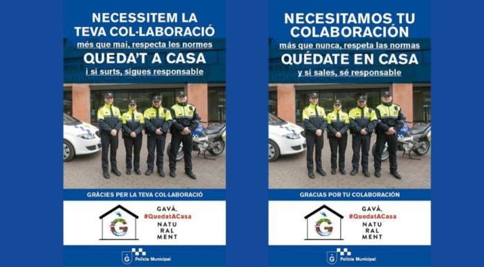 Policía Municipal de Gavà.