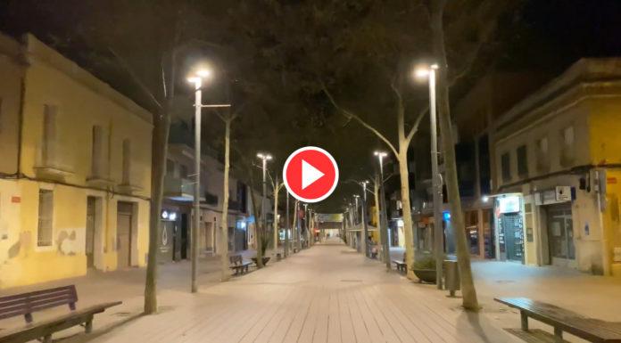 Rambla de Gavà (vídeo abajo).