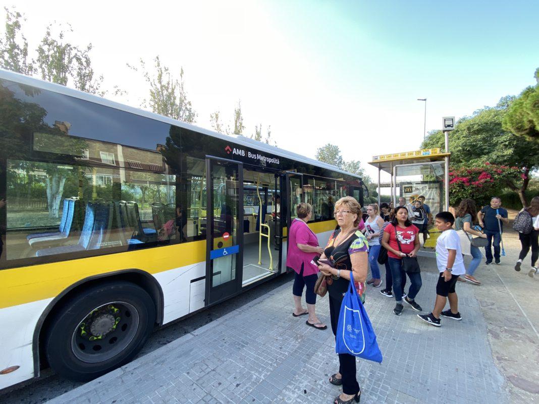 Autobús en Gavà.