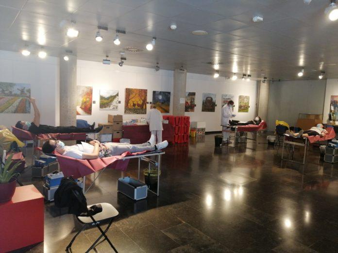 Anterior campaña de donación de sangre. Foto: Ayuntamiento de Gavà.