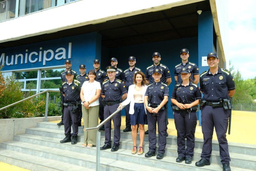 Agentes de la Policía Municipal de Gavà. Foto: Ayuntamiento de Gavà.