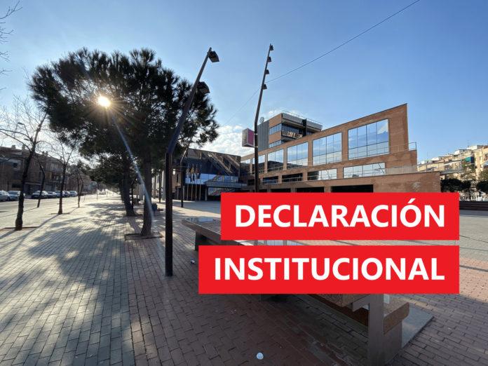 Declaración institucional.