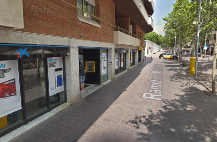 Antigua oficina CaixaBank de la Rambla.