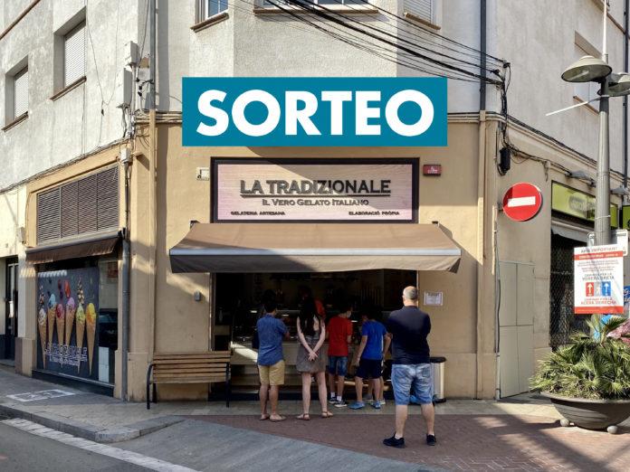 Sorteo de helados de La Tradizionale.
