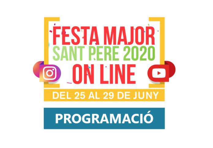 Programació de la Festa Major de Gavà 2020.